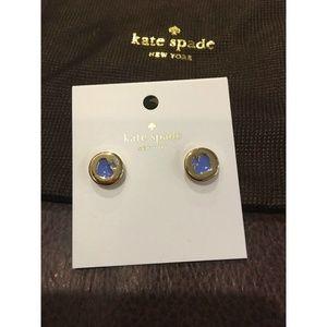 Kate Spade Womens Adventure Blue Earrings Jewelry